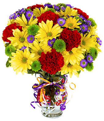 Colorful Celebration Bouquet